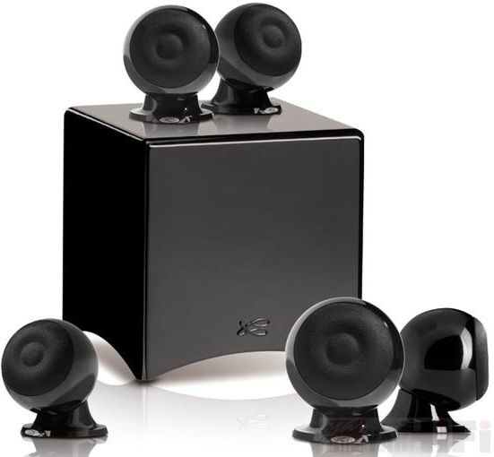 EOLE 3 SYSTEM 5.1 GLOSSY BLACK