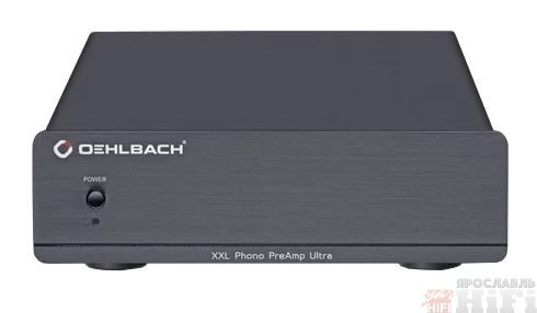 XXL Phono PreAmp Ultra Black