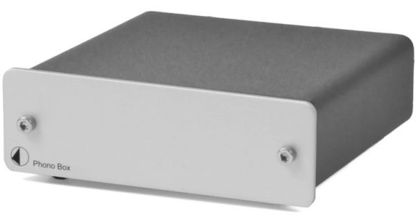 Phono Box (DC) Silver