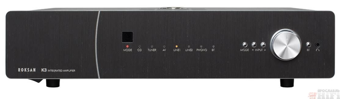K3 Integrated Amplifier Charcoal
